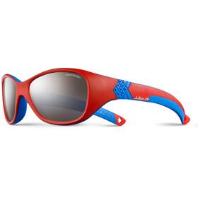 Julbo Solan Spectron 3+ Sonnenbrille 4-6Y Kinder red/blue-gray flash silver